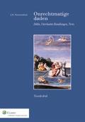 Onrechtmatige Daden Dit boek plaatst het Nederlands aansprakelijkheidsrecht in Europees perspectief. Het vizier wordt gericht op de vier hoekstenen van het buitencontractuele aansprakelijkheidsrecht.