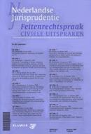Nederlandse Jurisprudentie Feitenrechtspraak civiele uitspraken <p>Met Nederlandse Jurisprudentie Feitenrechtspraak civiele uitspraken (NJF) blijft u op de hoogte van de belangrijkste civiele feitenrechtspraak.</p>