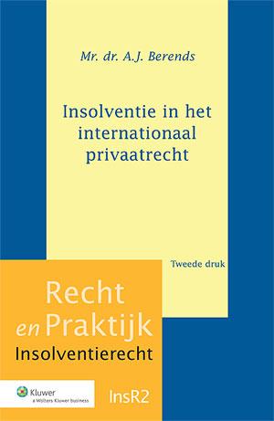 Insolventie in het internationaal privaatrecht Dit boek bevat een analyse van de Insolventieverordening en de daarop gebaseerde jurisprudentie. Daarnaast wordt het geldende recht beschreven dat geldt voor verhoudingen met niet-EU-lidstaten.