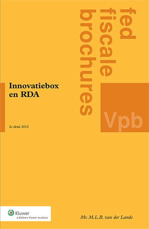 Innovatiebox en RDA <p>In deze tweede druk is een apart hoofdstuk gewijd aan de aanvullende aftrek voor speur- en ontwikkelingswerk (RDA), die met ingang van 2012 in de wet is opgenomen. De RDA blijkt in de praktijk een direct verband te hebben met de innovatiebox.</p>