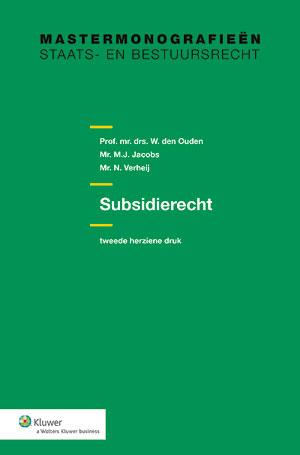 Subsidierecht <p>Dit is het enige actuele handboek over subsidierecht. Hierin worden de belangrijkste onderwerpen van het algemene subsidierecht besproken aan de hand van wetsgeschiedenis en de jurisprudentie. Deze derde druk is sterk in omvang toegenomen en volledig geactualiseerd. Ook de opkomst van nieuwe financieringsmaatregelen en de coronasteunmaatregelen komen aan bod.</p>