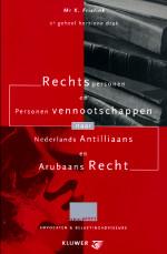 Rechtspersonen naar Ned. Antilliaans en Arubaans recht In deze 2e (geheel herziene) druk wordt aandacht besteed aan rechtspersonen en personenvennootschappen naar Nederlands Antilliaans en Arubaans recht.