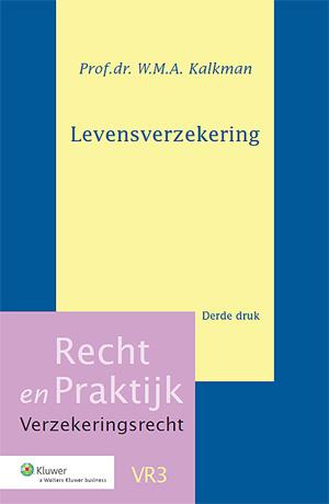 Levensverzekering Dit boek behandelt vele aspecten van de overeenkomst van levensverzekering die voor de praktijk van belang zijn.