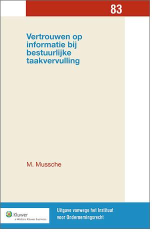 Vertrouwen op informatie bij bestuurlijke taakvervulling Dit boek gaat over de bestuurlijke omgang met informatie, in het bijzonder het grensgebied tussen vertrouwen en wantrouwen van de informatie van anderen.
