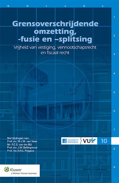 Grensoverschrijdende omzetting, -fusie en splitsing De opgenomen beschouwingen vormen de neerslag van de debatten die op 21 maart 2013 op de VU hebben plaatsgevonden over de mogelijkheden tot en hindernissen bij de uitvoering van grensoverschrijdende omzettingen, -fusies en -splitsingen.