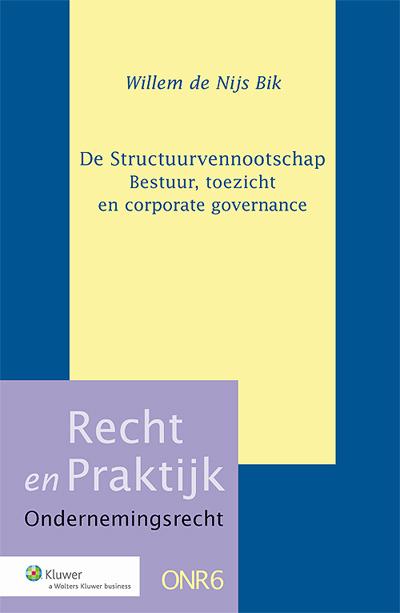 De Structuurvennootschap Het laatste deel van de serie Actualia Ondernemingsrecht vormde het boek 'De nieuwe structuurregeling' uit 2004. In dat jaar vond een ingrijpende wijziging plaats van deze typisch Nederlandse regeling voor grote kapitaalvennootschappen.