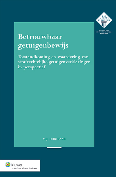 Betrouwbaar getuigenbewijs In deze uitgave worden de problemen met getuigenverklaringen vanuit verschillende disciplines geanalyseerd en in verbinding gebracht met de bestaande wettelijke regeling en de werkwijzen in de Nederlandse strafrechtspraktijk.