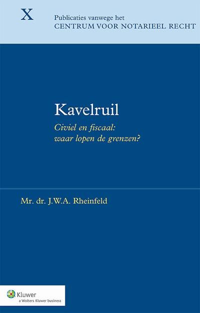 Kavelruil Dit handboek <strong>Kavelruil</strong> heeft het (agrarische) landinrichtingsinstrument kavelruil, de vrijwillige ruiling van onroerende zaken in het landelijk gebied, als onderwerp.