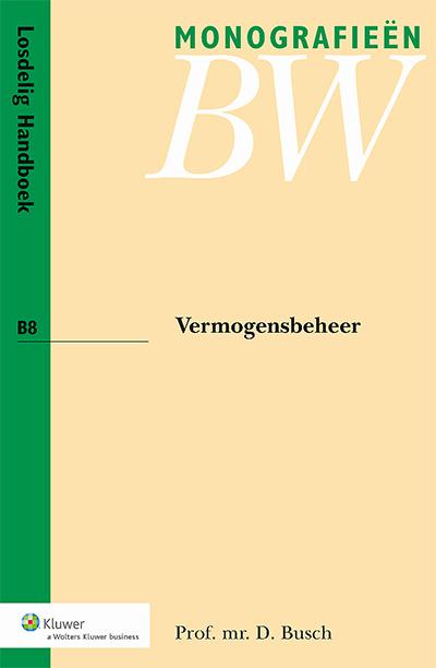 Vermogensbeheer In deze monografie staat de civielrechtelijke regulering van vermogensbeheer en de daarbij betrokken vermogensbeheerder centraal.