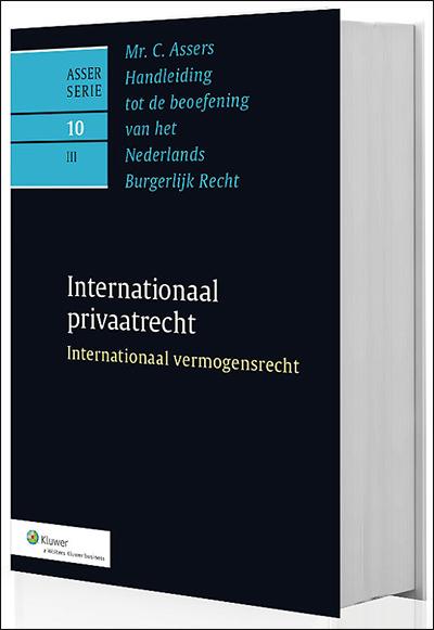 Asser 10-III Internationaal vermogensrecht Dit boek vormt het sluitstuk van de drie delen gewijd aan het internationaal privaatrecht. In dit boek wordt het internationaal vermogensrecht integraal behandeld en is onmisbaar voor juristen die, als advocaat, bedrijfsjurist, rechter of anderszins, betrokken zijn bij de internationale rechtspraktijk.