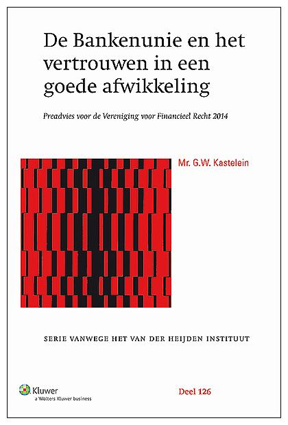 De Bankenunie en het vertrouwen in een goede afwikkeling Gerard Kastelein heeft zich als een van de eersten gebogen over het gehele complex aan regels en institutionele veranderingen die tot de bankenunie worden gerekend.