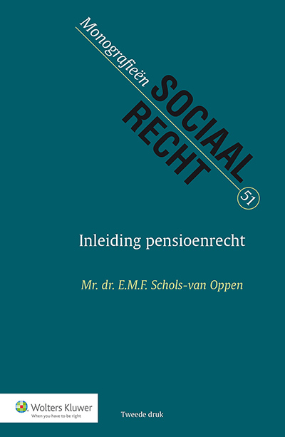 Inleiding pensioenrecht Dit boek behandelt op een overzichtelijke manier de Nederlandse wetgeving met betrekking tot pensioen in haar volle breedte.