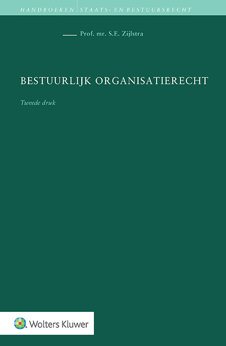 Bestuurlijk organisatierecht Dit is het enige handboek met een complete behandeling van de leerstukken binnen het Nederlandse bestuurlijk organisatierecht. Deze tweede druk is geheel vernieuwd naar aanleiding van talrijke ontwikkelingen in wetgeving en jurisprudentie. Zo bent u weer geheel bij in het bestuurlijk organisatierecht.