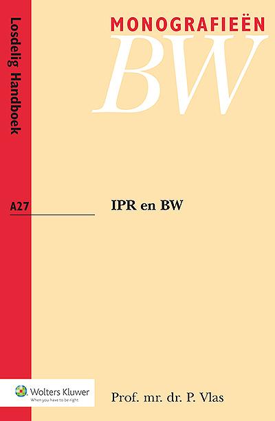 IPR en BW Boek 10 BW is gewijd aan het internationaal privaatrecht en wordt gezien als een mijlpaal in de codificatie van het Nederlandse IPR. Diverse onderwerpen komen aan bod, zoals de codificatiegeschiedenis, Boek 10 ten opzichte van andere bronnen van IPR en de invloed van het materiële burgerlijk recht. U krijgt inzicht in de inhoud en de achtergronden van Boek 10.