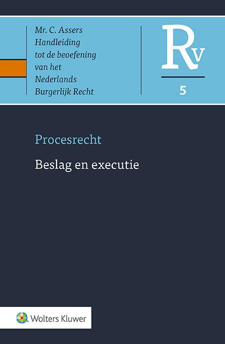 Asser Procesrecht 5 Beslag en executie Het beslag- en executierecht is een juridische slangenkuil waarin aan vele vereisten en termijnen moet worden voldaan. Beslag en executie gaan veelal gepaard met stevig verweer. Zowel voor de executant, de verweerder als de rechter vormt dit Asser-deel een leidraad en een bron van antwoorden op tal van vragen.
