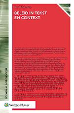Beleid in tekst en context Beleid en tekst. Ze zijn onlosmakelijk met elkaar verbonden. In de vele besluitvormingsprocessen die in Nederland plaatsvinden zijn teksten een absoluut onmisbaar instrument. Maar hoe ziet een goede beleidstekst eruit? Aan welke eisen moet deze voldoen? En wat mag er niet ontbreken? Deze uitgave geeft u het antwoord.