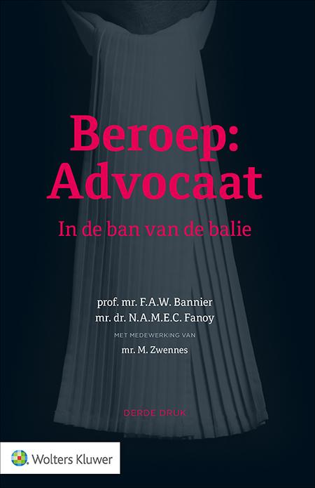 Beroep: Advocaat Deze uitgave schetst de realiteit achter de advocatuur. Hoe word je advocaat? Aan welke regels moet een advocaat zich houden? En met welke morele dilemma's worden advocaten geconfronteerd? Deze titel omschrijft de geschiedenis en de organisatie van advocaten in Nederland. Een must-read voor aanstaande en beginnende advocaten en voor iedereen die zich voor de advocatuur interesseert.