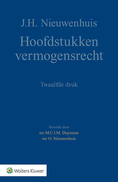 Hoofdstukken vermogensrecht <p>Dit studieboek zet in korte teksten de kern van het vermogensrecht uiteen. Al 40 jaar wordt deze uitgave veelgebruikt en gewaardeerd binnen het onderwijs.</p>