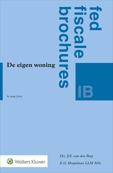 De eigen woning Meer dan 1 op de 2 Nederlanders bezit anno 2018 een eigen woning. De eigen woning heeft te maken met veel belastingen – van inkomstenbelasting tot erfbelasting. Deze uitgave brengt orde in deze fiscale aspecten rondom de eigen woning.