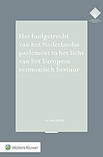 Het budgetrecht van het Nederlandse parlement Het budgetrecht van het Nederlandse parlement komt steeds meer onder druk te staan. Europese begrotingsregels zijn aanzienlijk aangescherpt en EU-instellingen krijgen steeds meer grip op de nationale begroting en de wijze waarop onze nationale middelen worden besteed. Dit proefschrift analyseert de gevolgen van het Europees economisch bestuur voor het budgetrecht van ons parlement.