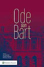 Ode aan Bart Dit boek is aangeboden aan Bart van Zadelhoff ter gelegenheid van zijn afscheid als hoogleraar Belastingrecht aan de Rijksuniversiteit Groningen.In deze bundel zijn diverse bijdragen opgenomen van (oud)collega's, vakgenoten, vrienden en bekenden vanVan Zadelhoff.