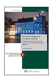 Het nationale budgetrecht en Europese integratie Met het budgetrecht stellen de Staten-Generaal en de regering samen jaarlijks de begroting vast. Ondertussen coördineert de Europese Unie het economisch beleid van de lidstaten steeds meer (denk aan de maatregelen tijdens de eurocrisis). Maar wat zijn nu de juridische consequenties van Europese economische en monetaire integratie voor het Nederlandse budgetrecht? Daarover gaat dit proefschrift.