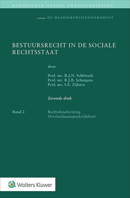 """Bestuursrecht in de sociale rechtsstaat Band 2 <span>Het handboek Bestuursrecht in de sociale rechtsstaat bestaat uit twee banden.</span><br /><span><a href=""""/shop/boek/bestuursrecht-in-de-sociale-rechtsstaat-band-1/NPBSOCREC-BI17001/"""" title=""""Bestuursrecht in de sociale rechtsstaat Band 1"""">Band 1 (2017)</a>behandelt de Grondslagen, Begrippen, Normering, Organisatie, Wet- en regelgeving, Uitvoering en Handhaving. Band 2 (2019) behandelt Rechtsbescherming en Overheidsaansprakelijkheid.</span>"""