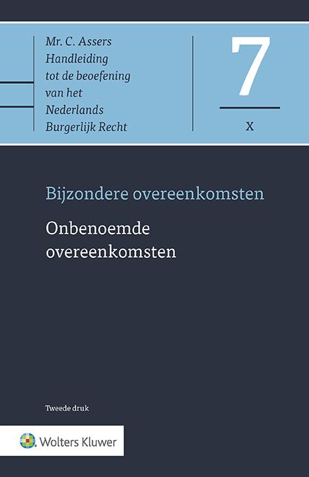 Asser 7-X Onbenoemde overeenkomsten Met een volledige en actuele behandeling van de onbenoemde overeenkomt, vormt dit Asser-deel het enige handboek over dit onderwerp in Nederland. Deze geactualiseerde editie bevat bovendien essentiële nieuwe wetgeving, jurisprudentie en literatuur.