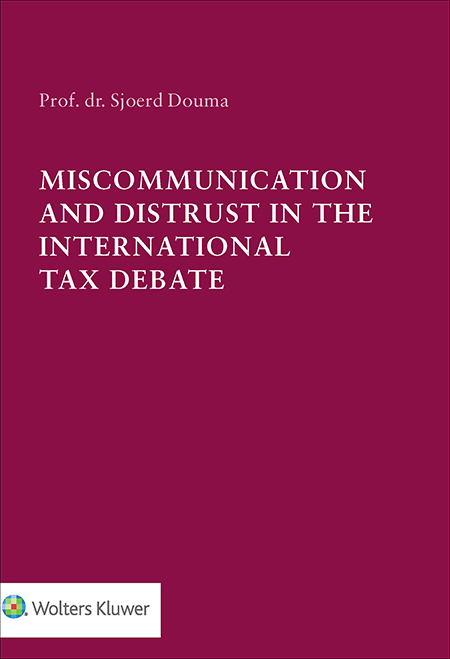 Miscommunication and Distrust in the International Tax Debate The global economic and financial crisis has eroded the underpinnings of the international tax system. Should tax authorities, ministries of Finance, multinational companies and tax advisors communicate differently to sway public opinion for the better? Should politicians institutionalize trust? This inaugural lecture explores these and similar questions.