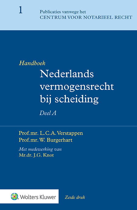 Handboek Nederlands vermogensrecht bij scheiding <p>Het A-deel van dit tweedelige handboek bevat een diepgaande behandeling van het Nederlands vermogensrecht bij (echt)scheiding in ruime zin. Ook insolventie, internationaal privaatrecht, burgerlijk procesrecht, het echtscheidingsconvenant, het geregistreerd partnerschap en informeel samenleven komen aan bod.</p>