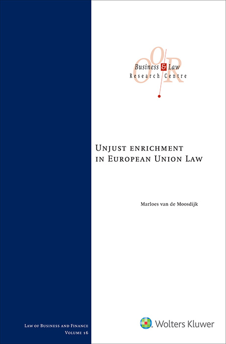 Unjust enrichment in European Union Law Which rights and obligations arise from the EU principle prohibiting unjust enrichment? This is the first publication to thoroughly examine the consequences this principle has – or may have – for private law relationships. An illuminating analysis, bearing both academic and practical importance.