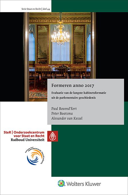 Formeren anno 2017 Formeren anno 2017 is de boekuitgave van de officiële evaluatie van de kabinetsformatie van 2017, geschreven mede op basis van gesprekken met alle betrokkenen. Het rapport is uitgebracht aan het presidium van de Tweede kamer. Een belangwekkende uitgave voor iedereen die zich bezighoudt met de formele en procedurele kanten van coalitievorming in Nederland.