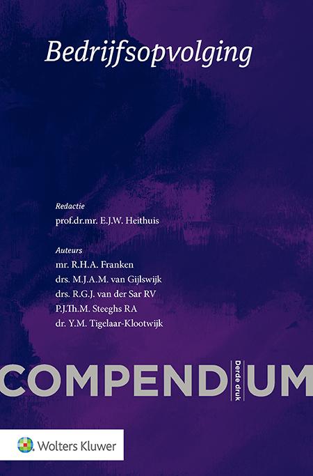 Compendium Bedrijfsopvolging <span>In dit boek komt de ingewikkelde problematiek van de bedrijfsopvolging aan de orde. Hiermee heeftude belangrijkste wettelijke regels en de jurisprudentie bij de hand.</span>