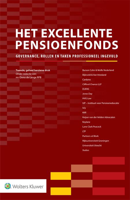 Het Excellente Pensioenfonds Deze titel biedt praktische handvatten voor (aankomende) pensioenfondsbestuurders en andere professionals in de pensioensector. De uitgave schetst een glashelder beeld van hoe pensioenfondsen succesvol kunnen zijn in de praktijk. Alle belangrijke aspecten komen daarbij aan bod: van vermogensbeheer en risicomanagement, tot zelfevaluatie en fund governance.