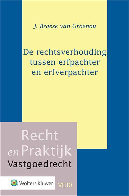 De rechtsverhouding tussen erfpachter en erfverpachter Dit proefschrift biedt een uitvoerig overzicht van het recht van erfpacht in Nederland. De lezer krijgt inzicht in de hierbij relevante wet- en regelgeving, de doctrine en de (actuele) rechtspraak over de rechtsverhouding tussen erfpachter en erfverpachter.