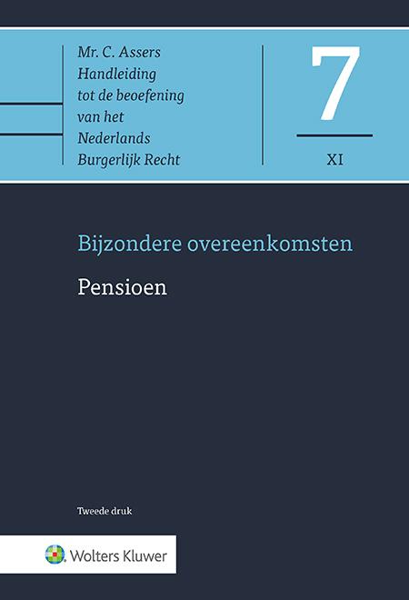 Asser 7-XI Pensioen <p>Dit Asser-deel behandelt de regels betreffende pensioenen die in de Pensioenwet zijn opgenomen. De uitgave analyseert de rechten, verplichtingen en de onderlinge rechtsbetrekking van werkgever, werknemer en pensioenuitvoerder. Hierbij wordt tevens aandacht besteed aan de onderlinge samenhang tussen specifiek pensioenrecht, het privaatrecht en EU-recht.</p>