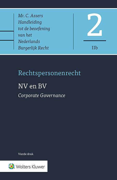 Asser 2-IIb NV en BV - Corporate Governance Dit Asser deel gaat over de Corporate Governance van de NV en BV. Het heeft betrekking op de juridische aspecten van het bestuur, het toezicht daarop door de raad van commissarissen en de bevoegdheden van de aandeelhouders. De titel beschrijft en analyseert de actuele stand van zaken omtrent wetgeving, jurisprudentie en literatuur.