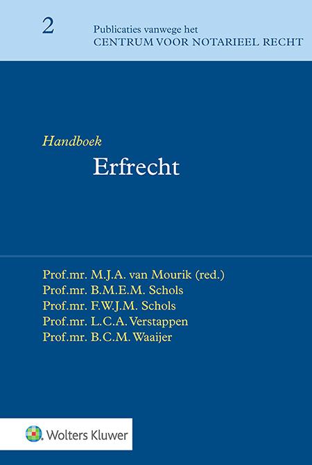 Handboek Erfrecht Handboek Erfrecht is al jaren hét toonaangevende boek voor de notariële praktijk en het onderwijs. Het beantwoordt elke vraag die u op erfrechtelijk gebied kunt hebben.