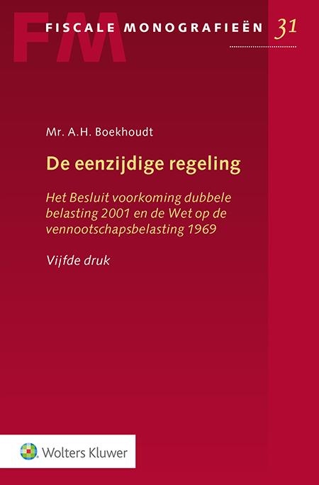 De eenzijdige regeling Deze uitgave geldt als de enige publicatie die alle Nederlandse regelingen ter voorkoming van dubbele belasting beschrijft. De vijfde druk is volledig up-to-date voor de belastingheffing van 2019.