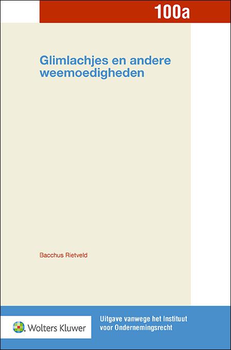 Glimlachjes en andere weemoedigheden Deze bundel in de serie van het Instituut voor Ondernemingsrecht verschijnt als eerbetoon aan prof. mr. P. van Schilfgaarde, wetenschapper én dichter.