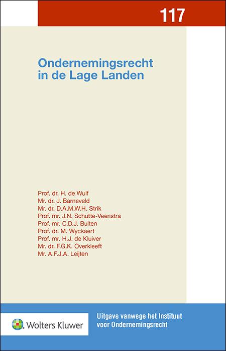 Ondernemingsrecht in de Lage Landen Deze bundel bevat een gevarieerd aanbod van bijdragen over actuele onderwerpen uit het Nederlandse- en het Belgische ondernemingsrecht, waarmee deze uitgave voor zowel de Belgische- als Nederlandse rechtspraktijk van grote relevantie is.