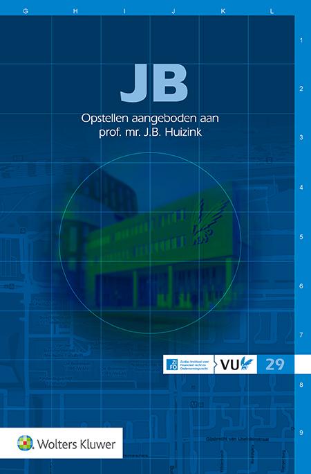JB Dit liber amicorum is prof. mr. Jan Bernd Huizink aangeboden ter gelegenheid van zijn emeritaat als hoogleraar Ondernemingsrecht aan de Vrije Universiteit in Amsterdam.