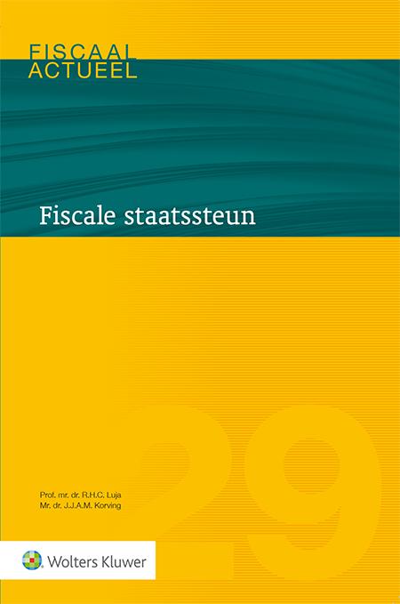 Fiscale staatssteun Het Europese staatssteunrecht staat in het middelpunt van de belangstelling. Deze uitgave belicht op een praktische wijze de hoofdlijnen van de Europese staatssteunregels. Het staatssteunrecht wordt vanuit een fiscale context bezien, met oog voor specifieke knelpunten die ontstaan bij toepassing op het belastingrecht.