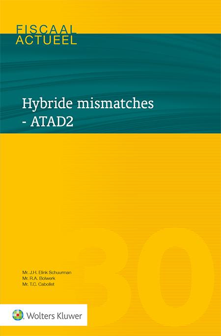 Hybride mismatches - ATAD 2 <span>Welke regelingen zijn als gevolg van ATAD2 in de Wet VPB 1969 geïntroduceerd? En welke praktische gevolgen brengen deze met zich mee? Deze uitgave zet de verschillende typen van hybride mismatches uiteen en belicht de omstandigheden waarin deze zich voordoen, evenals de gevolgen voor de bepaling van de belastbare winst.</span>