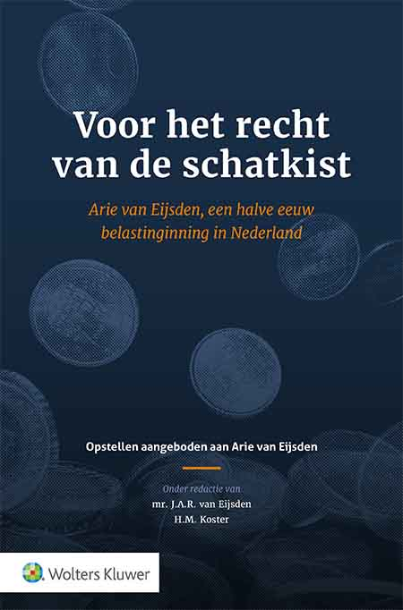 Voor het recht van de schatkist Dit liber amicorum verschijnt ter gelegenheid van het afscheid van A. van Eijsden van het Ministerie van Financiën. De uiteenlopende perspectieven in deze bundel geven inzicht in de ontwikkeling van het invorderingsrecht en aanpalende rechtsgebieden in de afgelopen 50 jaar. Een boeiend beeld van een halve eeuw belastinginning in Nederland.