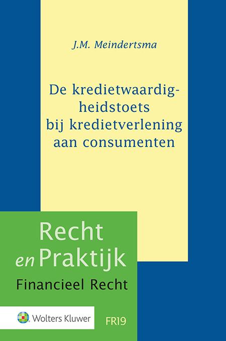 De kredietwaardigheidstoets bij kredietverlening aan consumenten Hoe is de kredietwaardigheidstoets momenteel vormgegeven in het Nederlandse recht? Welke knelpunten doen zich hierbij voor en hoe kunnen deze worden verholpen? Deze uitgave vormt het eerste systematische onderzoek naar de kredietwaardigheidstoets in het Nederlandse recht.