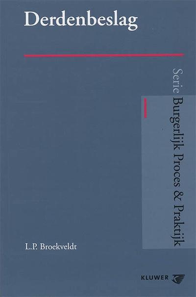 Derdenbeslag In deze uitvoerige, bijna 1000 pagina's tellende, uitgave wordt derdenbeslag op een zo praktisch mogelijke wijze begrijpelijk en inzichtelijk gemaakt.