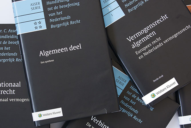Asser-serie Compleet De Asser-serie is de belangrijkste kennisbron van civielrechtelijk Nederland en biedt u toonaangevend commentaar op het burgerlijk recht. De Asser-serie is beschikbaar als online, maar ook in boek-vorm. Met een online abonnement heeft u de ruim dertig delen altijd volledig en up-to-date binnen handbereik.