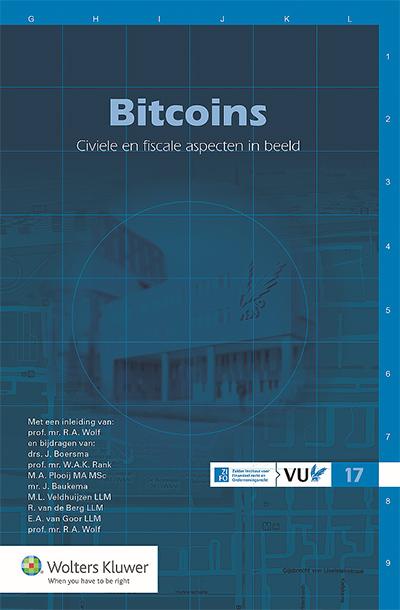 Bitcoins Bitcoins, een eendagsvlieg of geld van de toekomst? Veel is nog onzeker rondom dit prikkelende fenomeen. Niet in het minst als het gaat om de juridische en fiscale aspecten. Deze bundel bevat aanbevelingen en geeft enige relevante jurisprudentie. Een praktisch beginpunt voor hen die het fenomeen bitcoin nader willen verkennen.