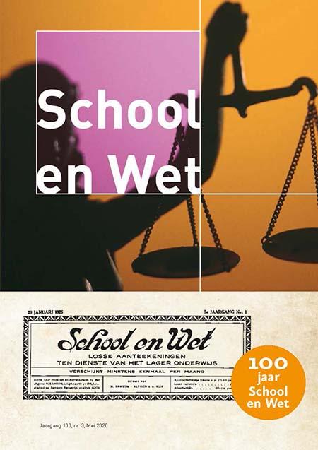 School en Wet Het onafhankelijke tijdschrift School & Wet is al meer dan 100 jaar een instituut in de wereld van het onderwijsrecht. In School & Wet staat de praktijk van het onderwijsrecht centraal.